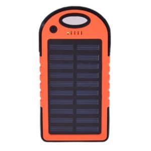 پاوربانک خورشیدی تسلا مدل T8s ظرفیت 8000 میلی آمپر ساعت